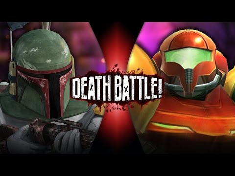 DEATH BATTLE! - Boba Fett vs Samus Aran Video