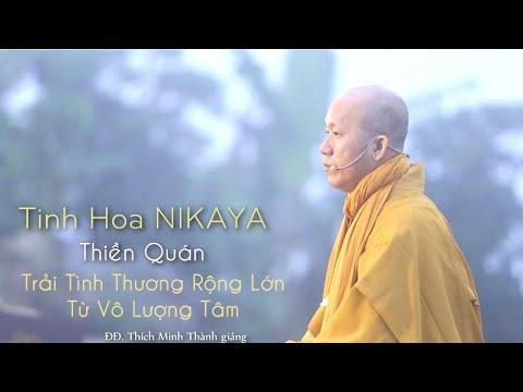 Tinh Hoa NIKAYA – Thiền Quán – Trải Tình Thương Rộng Lớn – Từ Vô Lượng Tâm