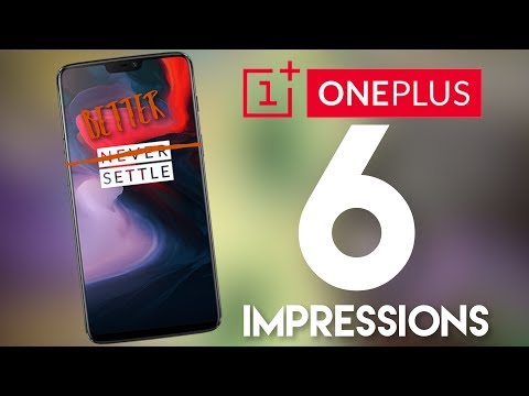 OnePlus 6 IS a phone, that's for sure...