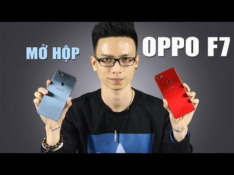 Mở hộp Oppo F7 đầu tiên tại Việt Nam đủ 2 màu sắc cực đẹp - Thời lượng: 9:09.