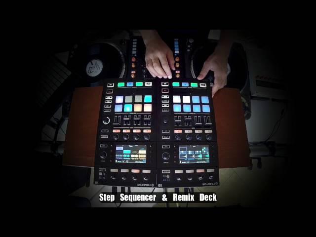 Traktor 2.11 - Kontrol D2 Step Sequencer + Remix Deck