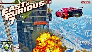 Nonton GTA 5 EPIC FURIOUS 7 Building Jump Stunt Race!! FAST & FURIOUS Extreme Racing (GTA 5 Funny Moments) Film Subtitle Indonesia Streaming Movie Download