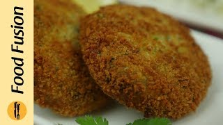 Chicken Potato kabab Recipe By Food Fusion