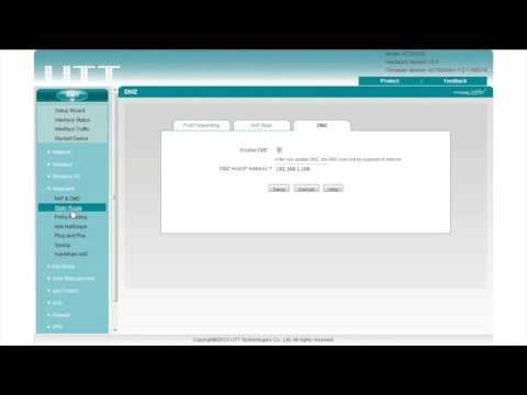 UTT Business Router Basic Configuration  - Part 3 Advanced