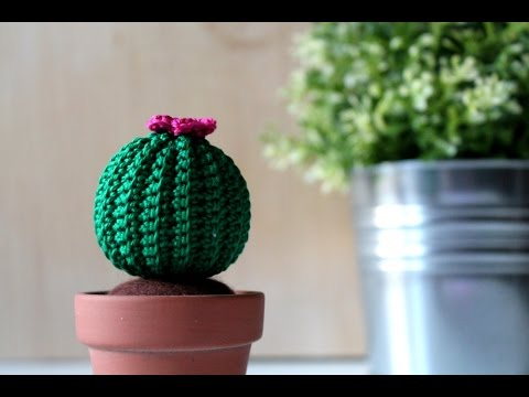 tutorial amigurumi per realizzare un cactus all'uncinetto