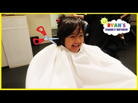 Ryan's First Haircut in Japan + More Family Fun Activities!!!!