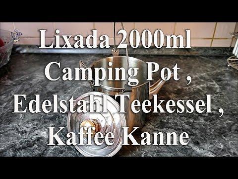 Lixada 2000ml Edelstahl Teekessel, Kaffee Kanne