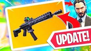 NIEUWE UPDATE!! TACTICAL ASSAULT RIFLE GAMEPLAY! DRUM GUN MINDER STERK! Fortnite Battle Royale LIVE