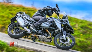 5. NEW BMW R 1200 GS TRIPLE BLACK 2016 - FIRST TEST DRIVE - ENG ITA SUB