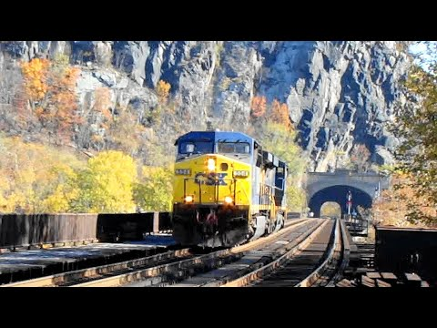 CSX Scares Trespassers in Harpers Tunnel