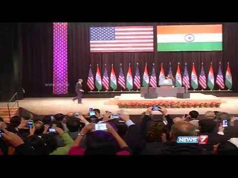 Obama calls for religious tolerance in India
