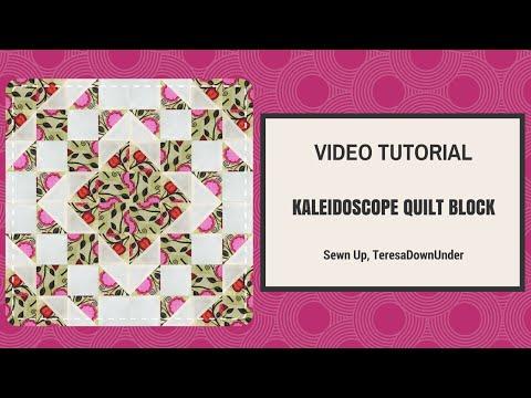 patchwork - blocco kaleidoscope