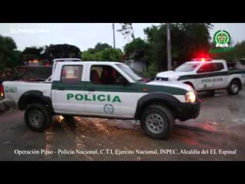 Video: Allanamientos Policía Nacional, CTI e INPEC en el Espinal