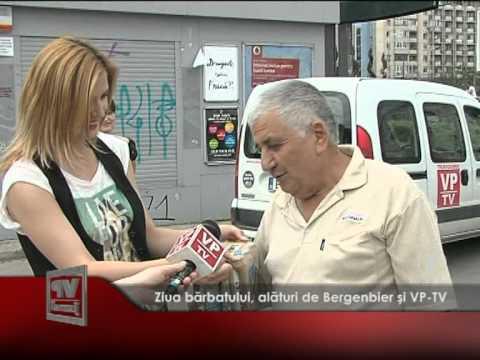 Ziua bărbatului, alături de Bergenbier și VP-TV