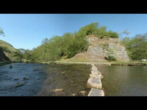 Dovedale, A Beautiful place in Derbyshire Peak District. See the Stepping Stones like never before.