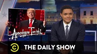 Video Donald Trump Accepts the GOP Nomination & Ted Cruz Gets Booed at the RNC: The Daily Show MP3, 3GP, MP4, WEBM, AVI, FLV Oktober 2018