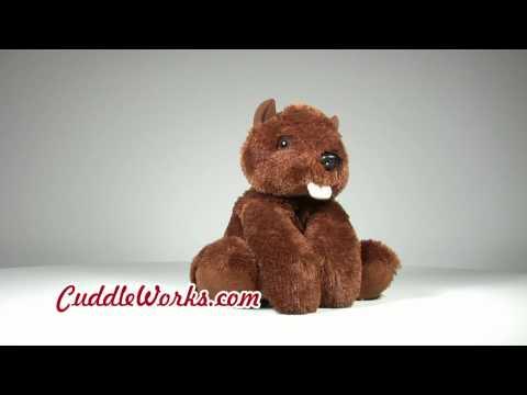 Beaver Stuffed Animals at CuddleWorks.com