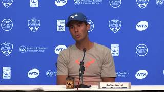Rafael Nadal extended his unbeaten run over Frenchman Richard Gasquet to 15 to reach the Cincinnati Open third round.