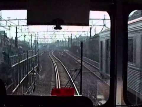 1990 東横線 渋谷駅-横浜駅 前向き Toyoko Line - Shibuya to Yokohama 901208