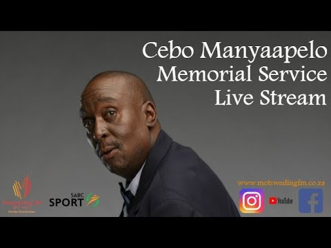 Funeral Service of Cebo Clement Manyaapelo (видео)