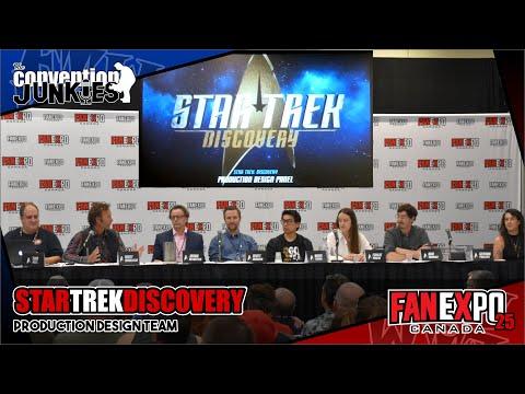 Star Trek Discovery Season 2 Production Design Sets & Ships Fan Expo Canada 2019 Panel