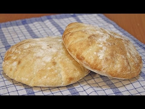 Somuni lepinje recept / Flat Bread Recipe