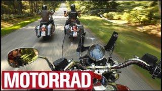 8. Harley-Davidson Road King Classic vs. Moto Guzzi California vs. Indian Springfield (Eng Subs)