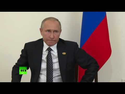 Vladimir Putin President -   Putin on alleviating Russia's counter sanctions English subtitles (видео)