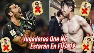 15 Jugadores que No Estarán en FIFA 19!!