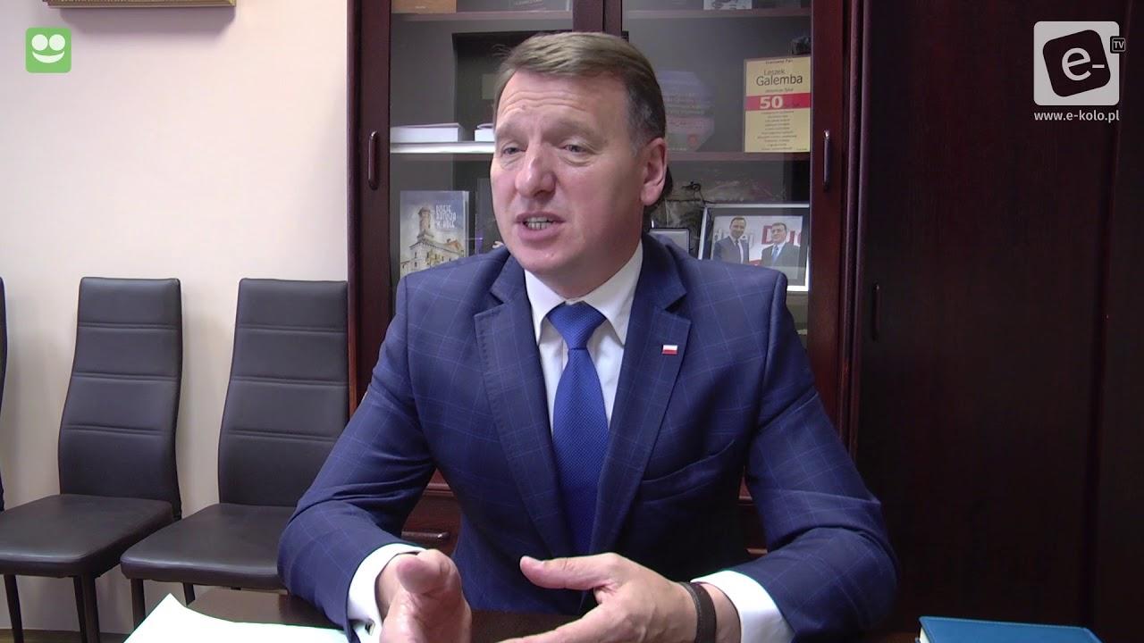 Poseł Galemba o wyborach na Burmistrza m.Koła