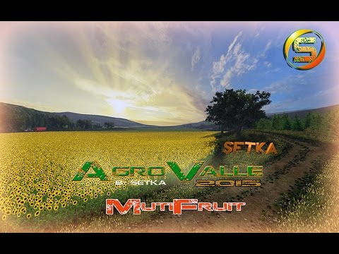 AgroValle FS2015 v1.0 OLIVES AND FRUITS