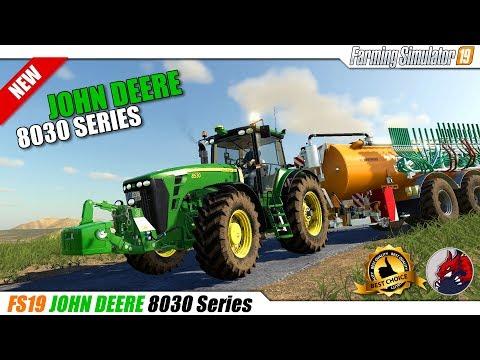 John Deere 8030 Series v1.0