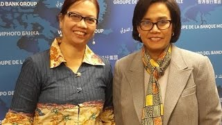 Wawancara dengan Sri Mulyani tentang tsunami Aceh
