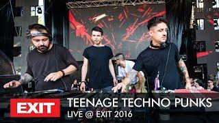 Marko Nastić & Dejan Milićević & Miloš Pavlović TEENAGE TECHNO PUNKS - Live @ mts Dance Arena Exit 2016