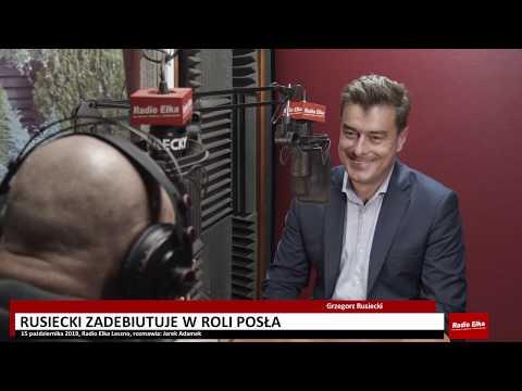 Wideo1: Grzegorz Rusiecki przed pierwszą kadencją w Sejmie