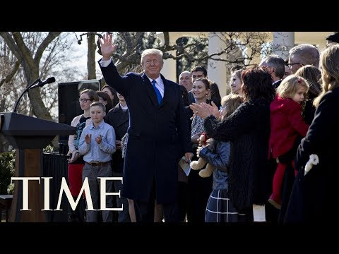 President Donald Trump Speaks At Anti-Abortion Event March For Life | TIME
