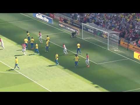 Brazil vs Croatia 2-0 - All Goals & Highlights - 3/6/2018 HD