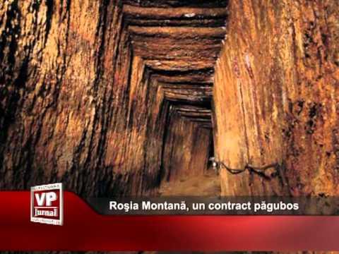 Roşia Montană, un contract păgubos