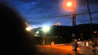 OVNI visto en Ibagué en el mes de abril de 2014..juzguen ustedes....