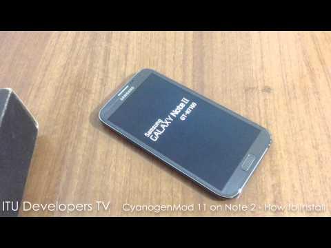 CyanogenMod 11 for Galaxy Note 2!
