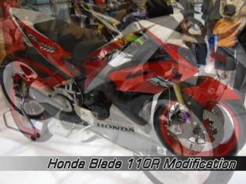 Honda Blade 110R at Jakarta Motorcycle Show 2008