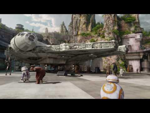 Star Wars: Galaxy's Edge At Disneyland - Fly Through (2019)