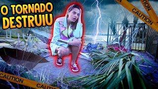🌪 O TORNADO DE ORLANDO DESTRUIU A MANSÃO?!