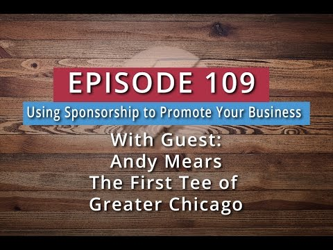 Watch '109: Using Sponsorship to Promote Your Business (Andy Mears) - YouTube'