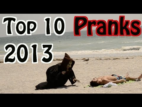 Top 10 Funny Scare Pranks Of The Year (2013)