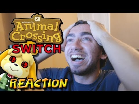 ANIMAL CROSSING/ISABELLE SMASH SWITCH REACTION! (Almost Cried)