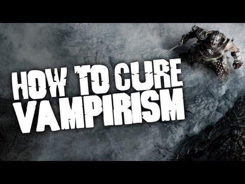 SKYRIM - How to cure Vampirism