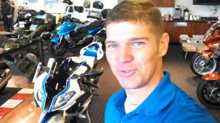 9. Daniel, your 2014 BMW HP4 Comp is at Frontline!!!