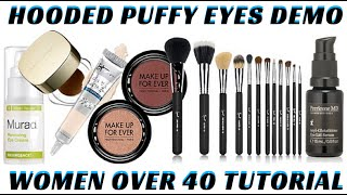 In this STEP BY STEP BEAUTY TUTORIAL I will demonstrate some of my favorite skincare items for DECREASING PUFFY EYES! I will also show you HOW TO CREATE A HO...