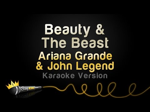 Ariana Grande, John Legend - Beauty & The Beast (Karaoke Version) Mp3